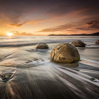 Moeraki Boulders, New Zealand South Island