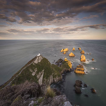 Nugget Point Lighthouse, South Island, New Zealand